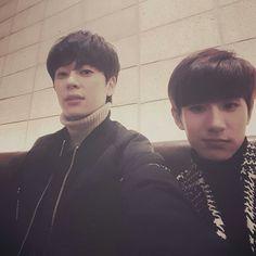 Donghyun and Minwoo Boyfriend Kpop, Boyfriend Photos, Kim Dong, Kpop Groups, Best Friends, Guys, Instagram, Beat Friends, Bestfriends