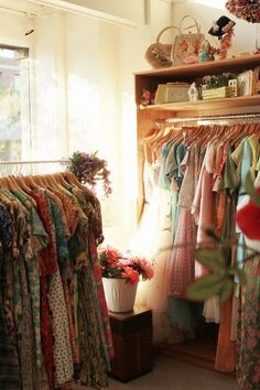 I think i need one room for my vintage dress.. 1 room for my wardrobe only..