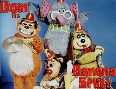 BANANA SPLITS 1970's    Oh how I loved this show!