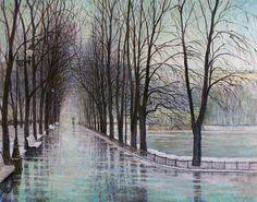 Патриаршие пруды. Ледяной дождь