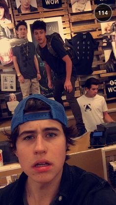 New Aeropostale clothing line of magcoon~Nash Grier~snapchat