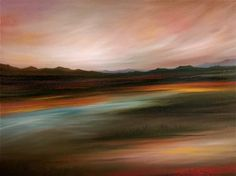 "Saatchi Art Artist Laura Blue Palmer; Painting, ""Immaculate Earth"" #art"