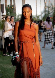 jasmine tookes at coachella   boho outfit   fashion   style inspiration