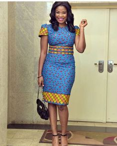 That is why we have carefully selected these latest Ankara short gown styles. African Print Dresses, African Fashion Dresses, African Attire, African Wear, African Women, African Dress, Ankara Fashion, African Outfits, African Prints