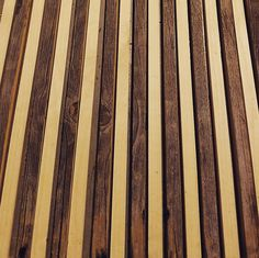 Close-up of the picnic table I'm starting. Half Michigan barn wood half new. Stripey. #woodworking