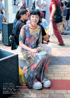 i love clothes Tokyo Street Fashion, Tokyo Street Style, Japanese Street Fashion, Japan Fashion, Women's Fashion, Grunge Style, Soft Grunge, Le Happy, Grunge Outfits