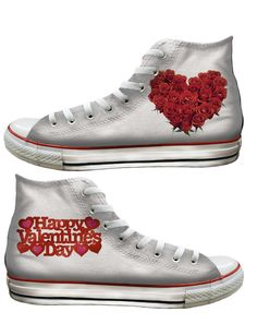 Get your love on with special Valentine's Day Converse shoes #heartVICTORIA #Converse - Baggins Shoes | www.tourismvictoria.com