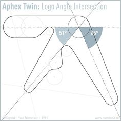 """630 Likes, 24 Comments - Paul Nicholson (@number3__) on Instagram: """"NUMBER 3 presents APHEX TWIN LOGO CONSTRUCTION  It is exactly 25 years since the release of…"""""""