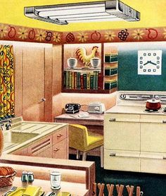 Lighten the heart of your home!  Sylvania 1951