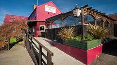 Outside view of the Tafarn Sinc pub in the Preseli Hills, Pembrokeshire, Wales, UK