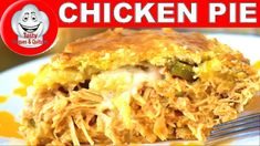 EMPADÃO DE FRANGO, CHICKEN PIE My Recipes, Chicken Recipes, Amazing Recipes, Good Food, Yummy Food, Tasty, Best Food Ever, My Best Recipe, Macaroni And Cheese