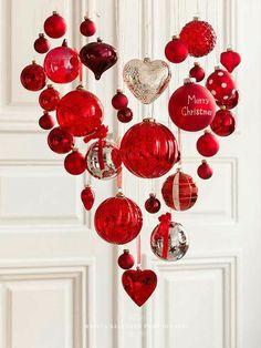 DIY... Festive Charming Holiday Ornament Chandelier!