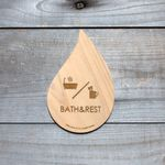 バスルーム&洗面所 プレート drop-plate