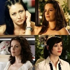 Charmed Ones: Pru, Phoebe, Piper, and Paige...if I ever have another girl it will be one of these names...which will be never