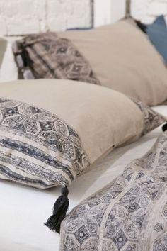 Magical Thinking Esrin Block Print Flannel Sham Set - Urban Outfitters