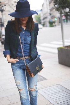 Come indossare e abbinare la camicia di jeans