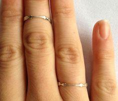 so delicate. Aim For Love Ring