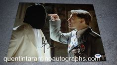 My Quentin Tarantino Autograph Collection: Christoph Waltz, Brad Pitt and Diane Kruger of Ing...