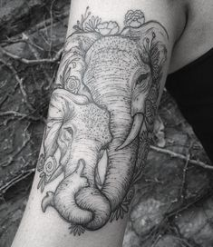 Design Elefant Tattoo