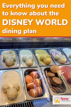 Want to get a Disney Dining Plan but not sure the best way to use your credits? Or not sure if you should get the dining plan? Here's info to help you decide. Disney World Guide, Disney World Food, Disney World Tips And Tricks, Disney Tips, Disney Worlds, Walt Disney, Disney Dining Plan Cost, Dining At Disney World, Disney Dining Tips