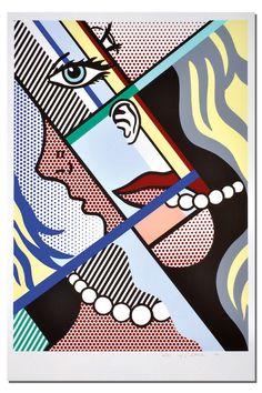 Roy Lichtenstein: Modern Art I. ...BTW, check this out!!!! : http://artcaffeine.imobileappsys.com
