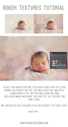 Kimla Designs and Photography : How to use Bokeh Textures ? Free Tutorial