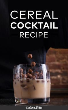 Cereal Cocktail Recipe