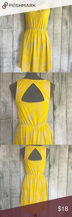LOFT Summer Dress Beautiful yellow summer dress size S perfect condition LOFT Dresses Midi