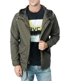 RVCA Mens : Jackets / Sweaters - Phillip