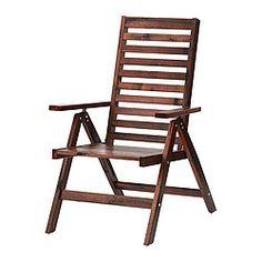 ÄPPLARÖ Reclining chair - brown - IKEA