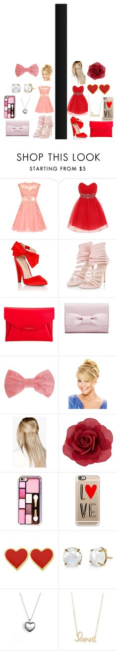 """""""Left or Right?"""" by sparklestache on Polyvore featuring Dorothy Perkins, Lipsy, Givenchy, Missoni, Boohoo, Accessorize, Casetify, Pandora and Sydney Evan"""