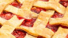How To Make Strawberry Rhubarb Pie: This Easy Strawberry Rhubarb Pie recipe is a classic. The tangy combination of sweet strawberries and tart rhubarb nestled in our perfect flaky pie crust! Easy Strawberry Rhubarb Pie, Rhubarb Desserts, Pie Recipes, Sweet Recipes, Pillsbury Recipes, Summer Dessert Recipes, The Fresh, Smoothie Recipes, Strawberries