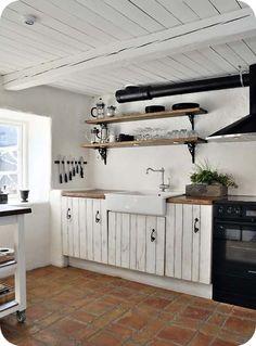 Rustic White Kitchens kuchynĚ do l - hledat googlem | kuchyně | pinterest | search
