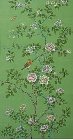 de gournay chinoiserie wallpaper - Google Search