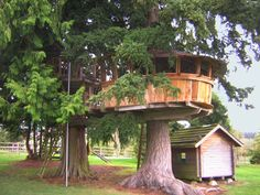 Saw something similar to this today when I stopped at a garage sale!  Just didn't have a roof.  We could so do this!!