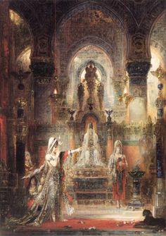 Salome dancing before Herod. Gustave Moreau. 1876