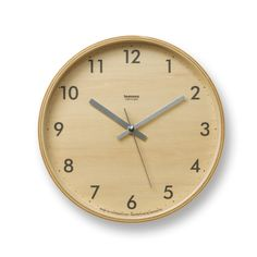 Lemnos Plywood Wall Clock on AHAlife Plywood Walls, Plywood Furniture, Wall Clock Design, Lifestyle Store, Burke Decor, Japanese Design, Japanese Interior, Dot And Bo, Home Accessories