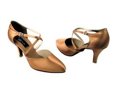Very Fine Womens Competitive Dancer Model CD6017  275 Slim Heel 6 5 M US Tan Satin >>> You can get more details by clicking on the image.