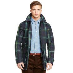 Plaid Waxed Cotton Jacket - Lightweight & Quilted  Jackets & Outerwear - RalphLauren.com