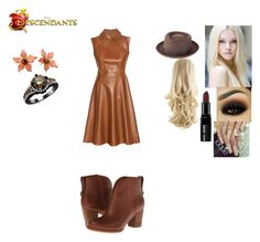 """""""Stacy Crow - Daughter of the Scarecrow"""" by maxinepotter ❤ liked on Polyvore featuring Grevi, Timberland, Acne Studios, Bobbi Brown Cosmetics, Tarina Tarantino, disney, OC and Descendants"""