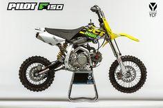 2015 [YCF PILOT F150] ➤ 1599.00€ - Bras oscillant 420 mm - Joint étanche colonne de direction - Nouveau kick - Nouvelle durite frein arrière #MiniWheels #PitBike #ycf #moto #2015