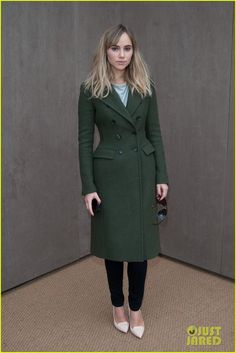 Bradley Cooper Supports Suki Waterhouse at Burberry Prorsum Show.