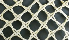 NZ flax weaving blog » Blog Archive » Making an open-weave basket Flax Weaving, Basket Weaving, Maori Art, Open Weave, Diamond Pattern, Diamond Shapes, Baskets, Archive, Sculpture