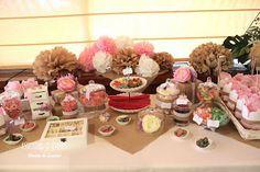 Candy Bar, buffet de chucherías, ideas originales para bodas, fiestas y cumpleaños: La Comunión de Marta