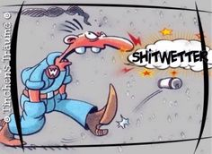 HAHAHA ER HAT RECHT Disney Characters, Fictional Characters, Snoopy, Jokes, Comics, Funny, Hat, Porsche, Cartoons