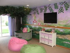1000 images about luxury baby nurseries on pinterest for Fairy garden bedroom ideas
