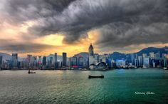 Victoria Harbour Hong Kong- been here!