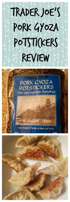 A review of Trader Joe's Frozen Pork Gyoza Potstickers BecomeBetty.com has pictures, thoughts on the product, how to prepare, nutritional information, serving ideas, and ingredients allergy information.