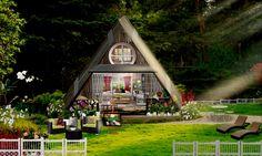 'My triangular she shed  😍😍😍🌴🌴🌴🌸🌸🌺🌺🌲🌲🌲 💕💕💕💕🌳🌳🌳 Enjoying my weekend in my little she shed 😃😃😊🌞' created in #neybers