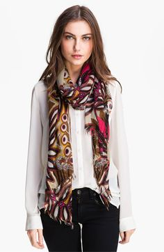 Echo 'Tribal Mudcloth' Scarf available at #Nordstrom.